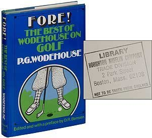fore-the-best-of-wodehouse-on-golf-1st-edition-by-p-g-wodehouse-1983-hardcover