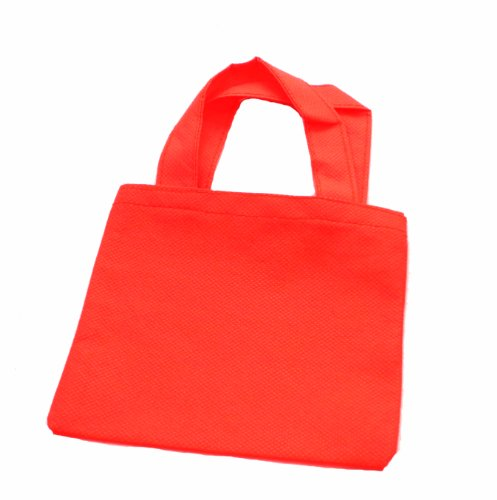WeGlow International Miniature Tote Bags - Pack Of 12, Red