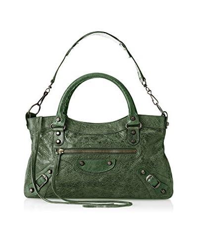 Balenciaga Women's Classic First Tote, Green As You See