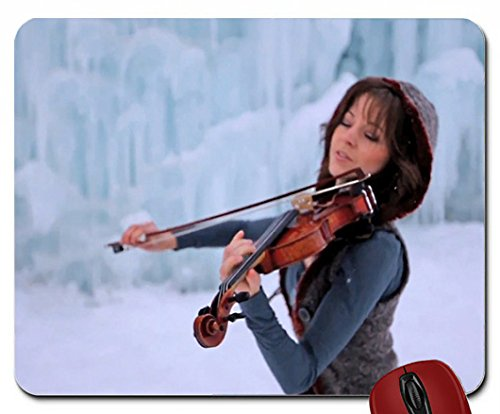 women violins musicians lindsey stirling crystallize violinist 1920x1080 wallpaper mouse pad computer mousepad (Crystallize Lindsey Stirling compare prices)