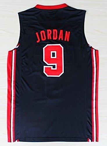 Jordan 1992 USA Dream Team Basketball Jersey Navy Blue Size XL