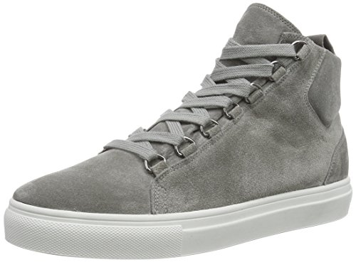 Kennel und Schmenger Schuhmanufaktur Basket - Sneaker alta donna, colore grigio (Grau (stone So. schwarz)), taglia41
