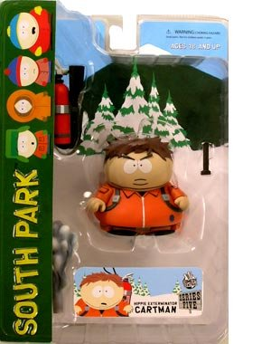 Picture of Mezco South Park: Hippie Exterminator Cartman Figure (B000QC5NBS) (Mezco Action Figures)