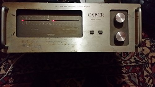 Rare Vintage Carver C-500 High Slew Rate Laboratory Standard Amplifier 750 Watt