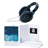 Sennheiser HD 600 Open Back Professional Headphone with Amazon.com Gift Card with Greeting Card - $150 (Winter)
