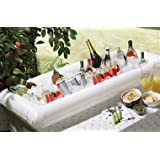 """DRINKS COOLER FOR GARDEN PARTIES & BARBECUES - INFLATABLE ICE BAR LARGE 51"""" WIDE"""