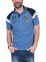 SIR RAYMOND TAILOR Polo Shirt Short Sleeve Sweet (INDIGO)