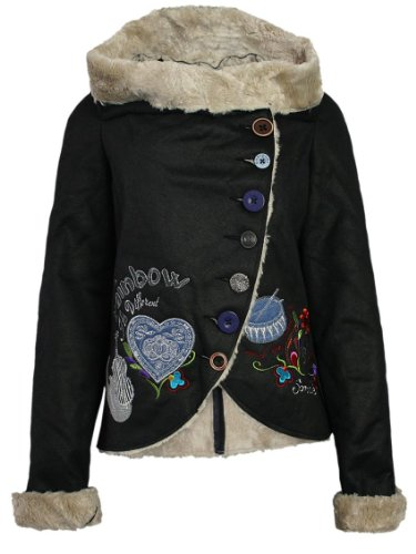 manteau desigual leia desigual femme designer vest. Black Bedroom Furniture Sets. Home Design Ideas