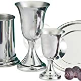 Empire Pewter Wine Goblet