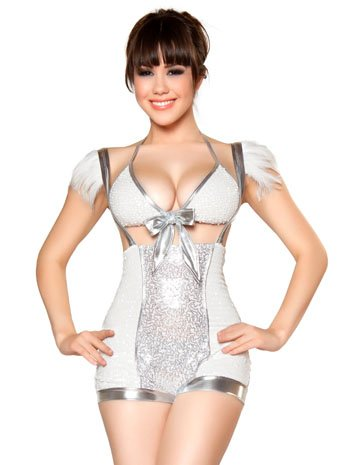 Angelic Seductress Angel Costume - MEDIUM/LARGE