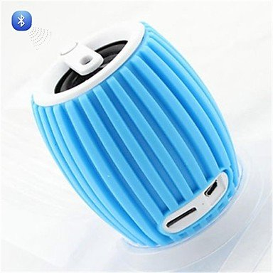 Zclq8 Grenade Style Portable Bluetooth V3.0 + Edr 2-Ch Speaker With Microphone / Tf - Blue /Green