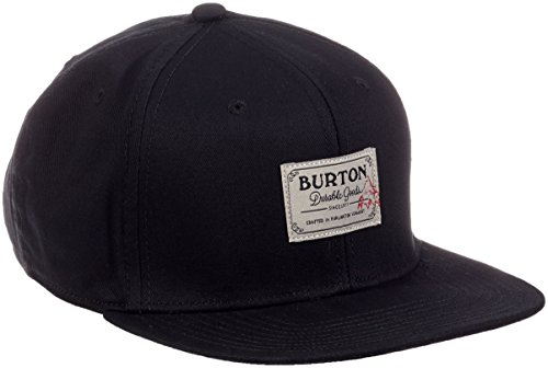 Burton, Cappellino Uomo MB Riggs, Nero (True Black), Taglia unica