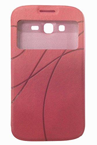 FLIP COVER : SAMSUNG GALAXY GRAND/GRAND NEO/GRAND NEO PLUS WOT (PINK)