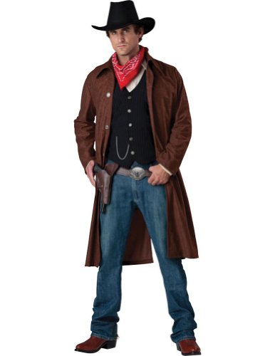 Adult-Costume Gritty Gunslinger Adult Costume Md Halloween Costume
