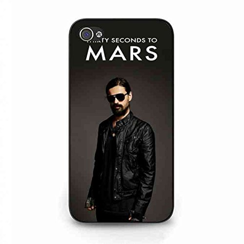 30 Seconds To Mars Cool Man Custodia For iPhone 4/iPhone 4S, 30 Seconds To Mars Snap On Custodia, iPhone 4/iPhone 4S 30 Seconds To Mars Protective Skin Custodia