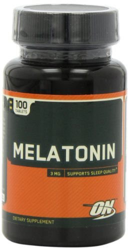 Optimum Nutrition Melatonin 3mg, 100 Tablets