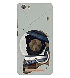 EPICCASE Spacewomen Mobile Back Case Cover For Gionee Marathon M5 lite (Designer Case)