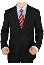 Presidential Giorgio Napoli Men's 2 Button Suit Separate Coat Blazer