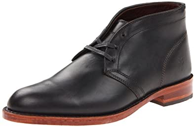 FRYE Men's Walter Chukka Full Grain BootBlack7 M US