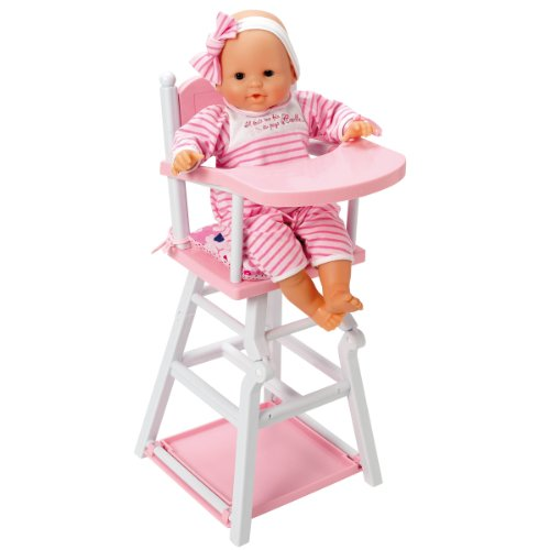 Corolle Pink And White High Chair Corolle Doll High Chair