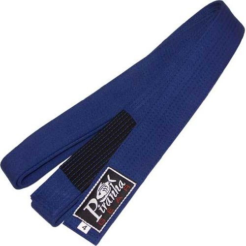"BJJ Uniform Belt M/W Rank Sleeve,Blue ""5"" (or ""A3"")"