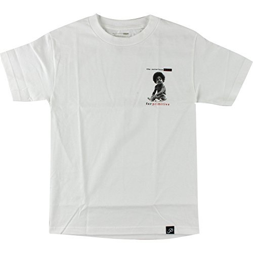 Primitive Biggie Baby T-Shirt - Size: LARGE White by Primitive Skateboarding