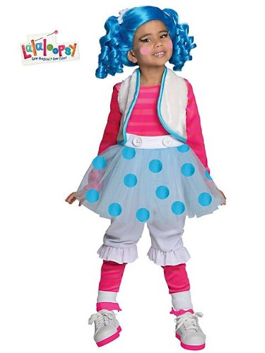 Rubies Costume Co R884803-TODD Lalaloopsy Deluxe Mittens Fluff and Stuff KLEINKINDM-DCHEN