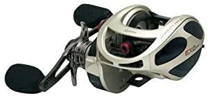 Zebco Exo PT 5.3:1 Baitcasting Fishing Reel, 300, Right Hand by Zebco