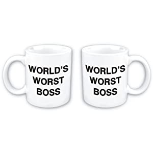 World's worst boss coffee mug