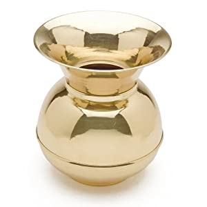 Western Brass Spittoon