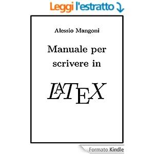 Manuale per scrivere in LaTeX