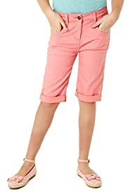 Cotton Rich Turn Up Hem Shorts