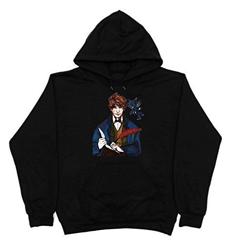 Fantastic Beasts and Where to Find Them Movie Character Newt Scamander Men's Hoodie XX-Large