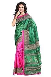 Rangrasiya Corportation Women's Silk Saree_02_Multicolored_Freesize