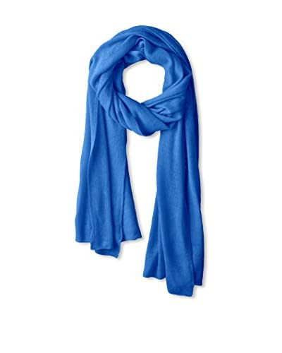 Portolano Women's Light Weight Cashmere Wrap, Blue Bell New