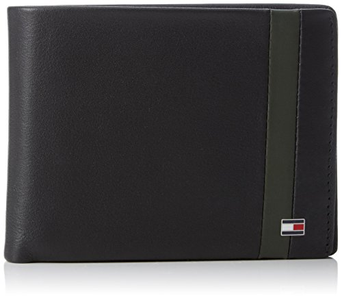 tommy-hilfigercolor-block-cc-flap-and-coin-pocket-portafogli-uomo-multicolore-mehrfarbig-black-coffe