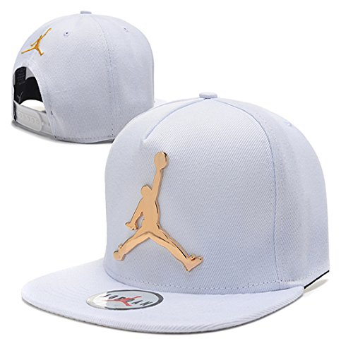 Eyike Jordan Iron standard hip-hop Cap NBA basketball Adjustable Hat color 8 One size
