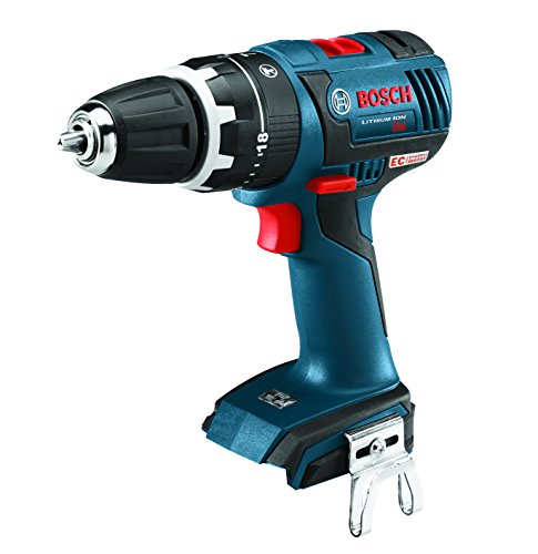 Bosch HDS182B Bare-Tool 18V Brushless Compact Tough Hammer Drill/Driver, 1/2