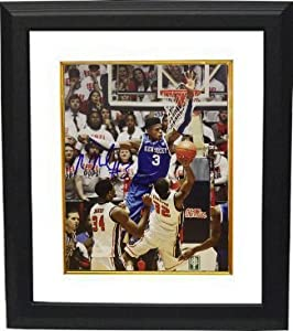 Nerlens Noel signed Kentucky Wildcats 8x10 Photo Custom Framed vs Ole Miss by Athlon+Sports+Collectibles