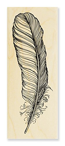 Stampendous Quill Rubber Stamp