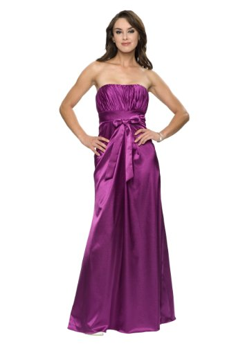 Astrapahl, Evening dress, cocktail dress, bride, wedding, color purple