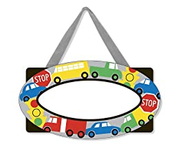 Melissa & Doug Vehicles Door Plaque