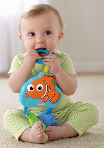 fisher price disney baby nemo mini mobile discontinued by manufacturer toddler toys accessories. Black Bedroom Furniture Sets. Home Design Ideas