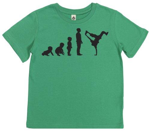 Phunky Buddha - Evolution To A Break Dancer Children'S Top 5-6 Yrs - Green