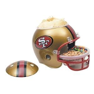 NFL Snack Helmet NFL Team: san Francisco 49ers by WinCraft