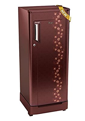 Whirlpool 205 Icemagic Roy 4S Direct-cool Single-door Refrigerator (190 Ltrs, Wine Adonis)