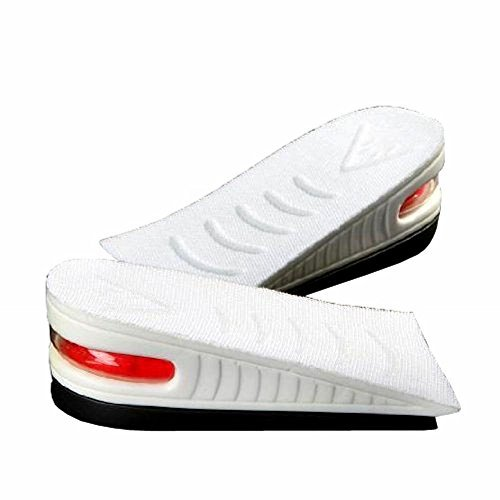 FreshGadgetz 1 Paio di Altezza aumentare sollevare schiuma scarpe Più Alto Soletto inserto paia fino a 4 cm - Solette Scarpe Per Altezza