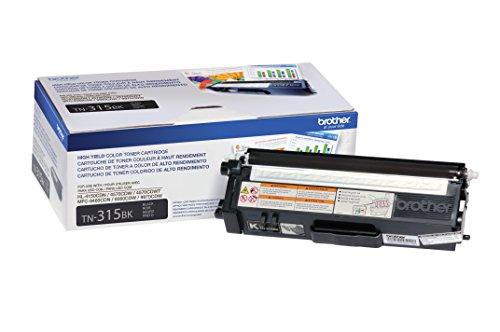 Brother TN315BK Toner Cartridge for Brother Laser Printer - Retail Packaging - Black