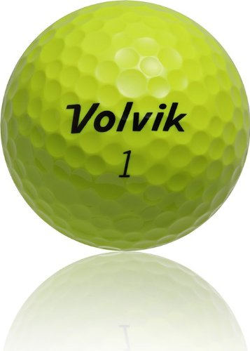 volvik vista iv 4 piece golf ball pack of 12 yellow. Black Bedroom Furniture Sets. Home Design Ideas