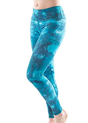 True Life Fitness Women's Running & Yoga Full Length Patterned leggings